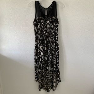 FOREVER 21 printed high low dress